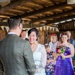 That moment when a bride realises wat I DO actuall means at tower hill barns llangollen