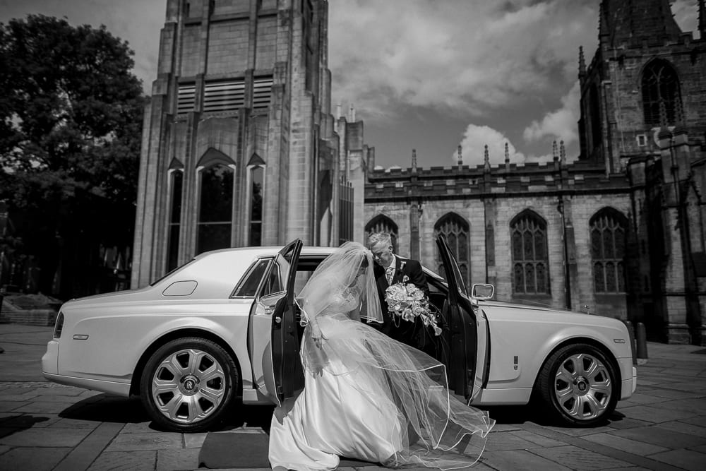 Sheffield Cathedral Wedding - Helen & Will