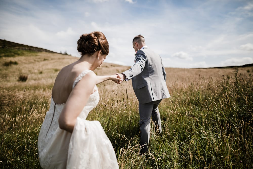 A Peak District Wedding - Donna & Dave
