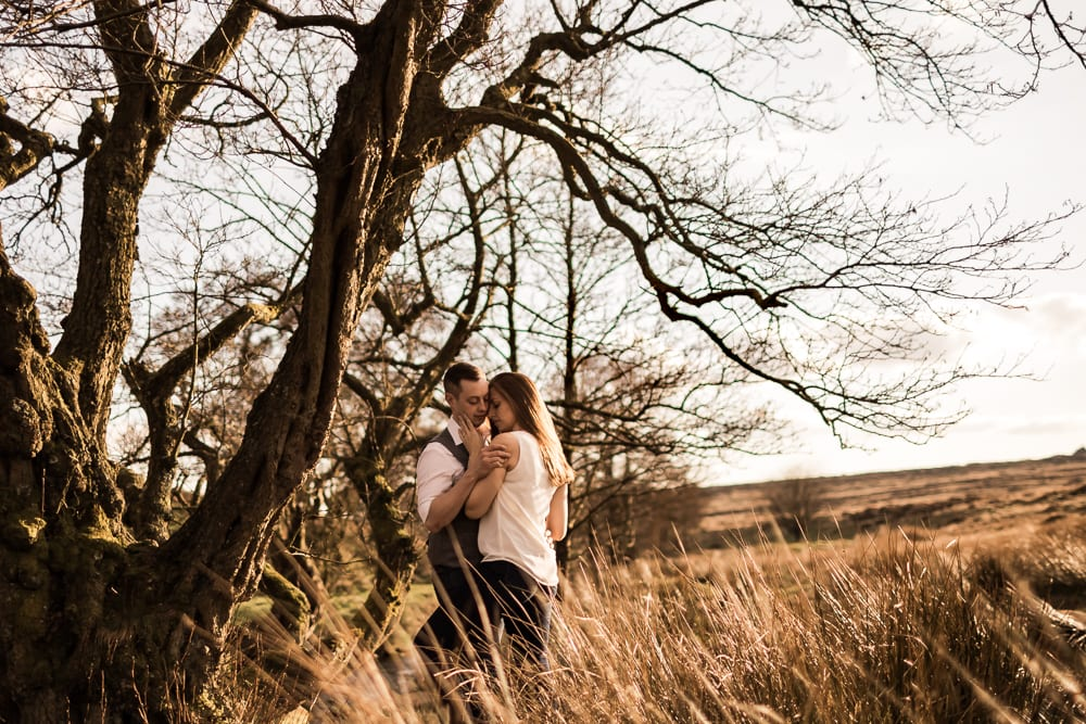 Peak District Engagement Shoot - Donna & Dave