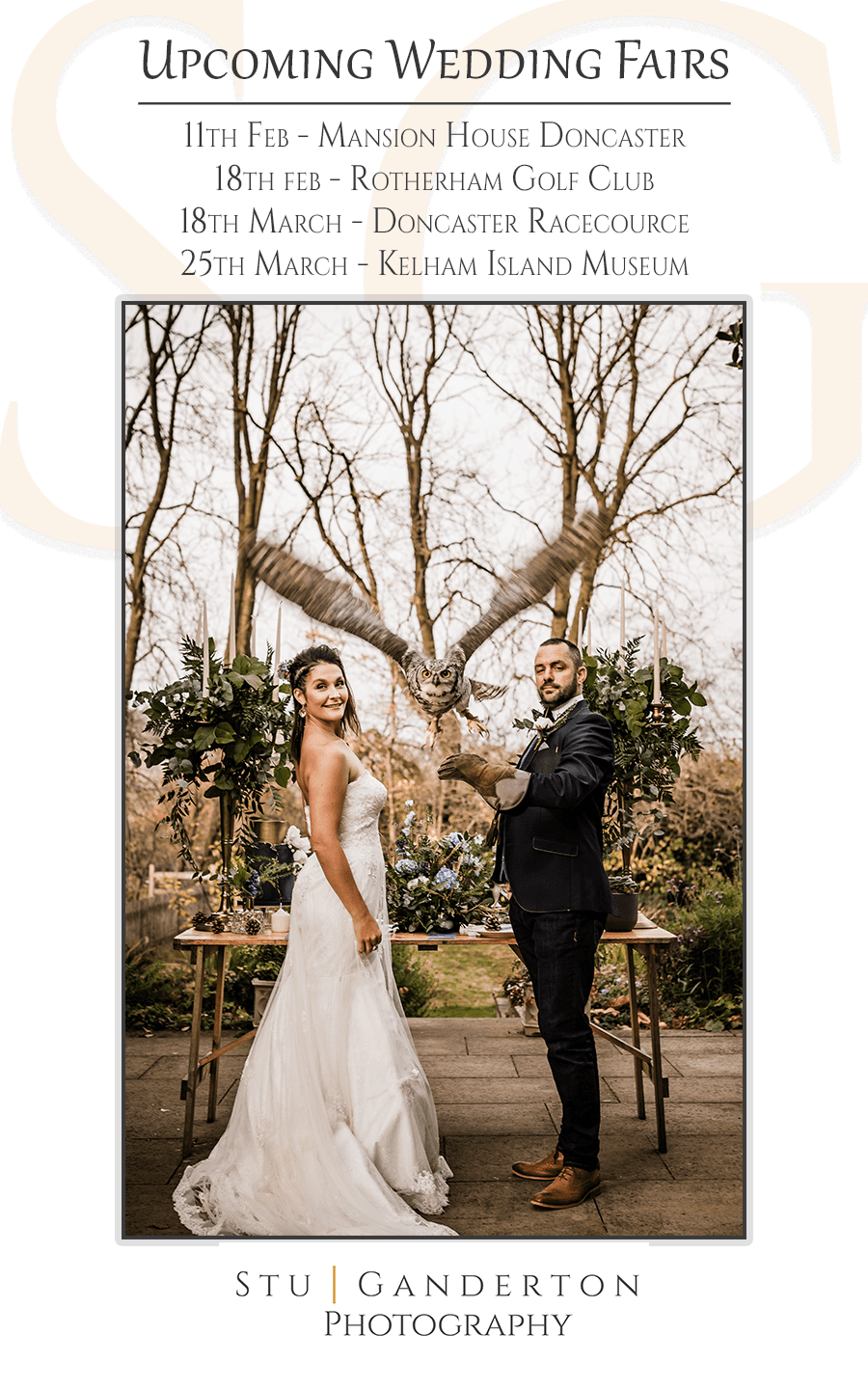 sheffield wedding photographer attending wedding fairs
