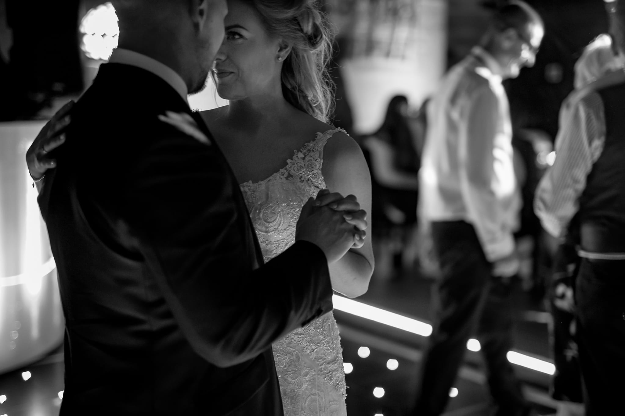 the first dance at peckforton castle grand hall