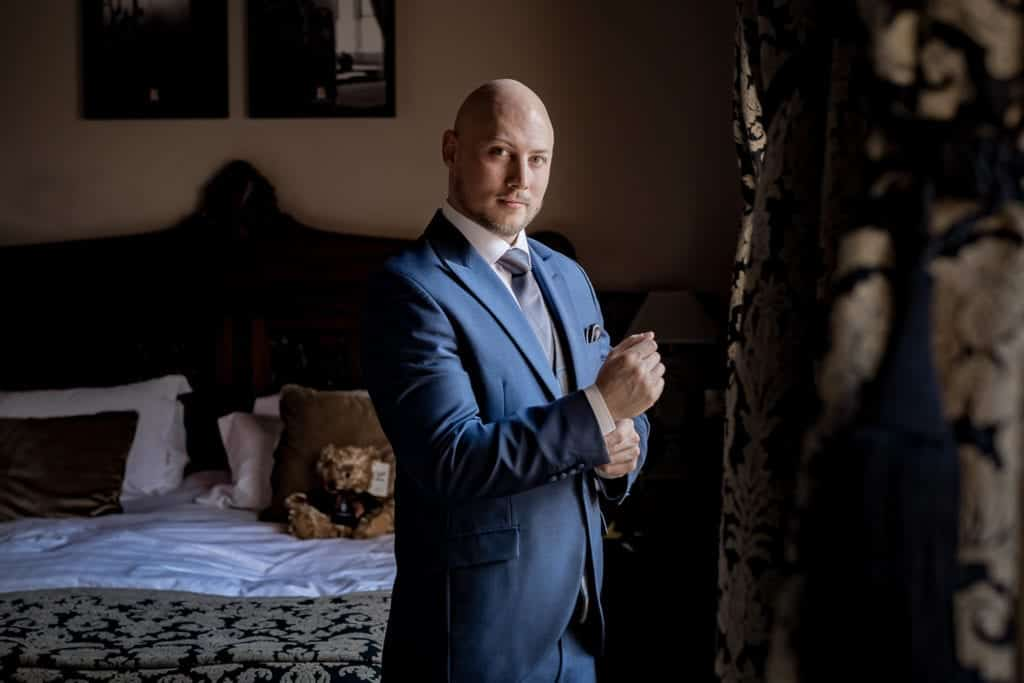 the groom at peckforton castle