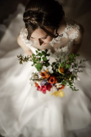 artistic bridal portrait by stu ganderton sheffield wedding photographer
